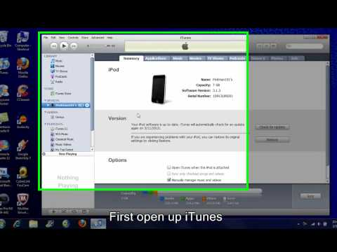 How to Transfer Purchased music/apps from your iPod