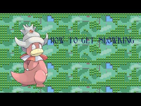 How to get slowking on pokemon indigo