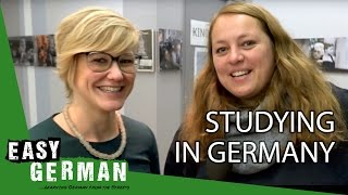 Studying in Germany | Easy German 170