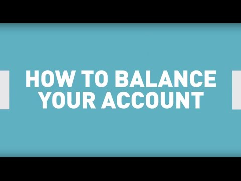 How to Organize Your Money and Balance Your Bank Account