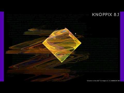 Dzienniczek 20171015 Knoppix 8.1 Live DVD