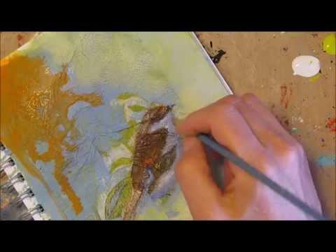 Faith Art Friday: Watch the process