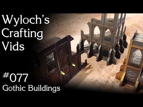 077 - Gothic Buildings (Warhammer 40k Scratchbuilt Mechanicum, Administratum, Imperialis)