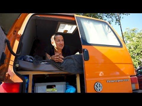 OUR VAN TOUR | Volkswagen T4 Van Conversion | Minimalist Travel