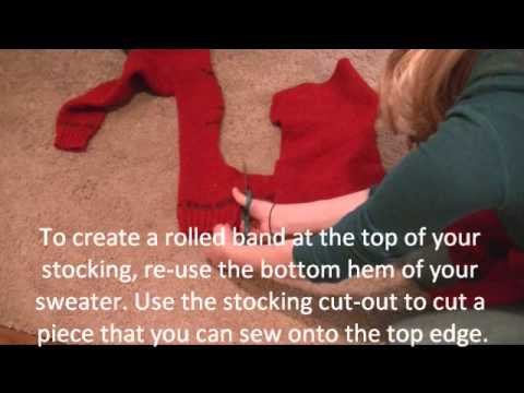 Chic on the Cheap: Stockings out of Sweaters