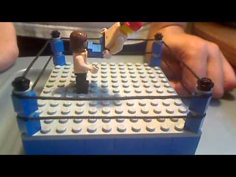 my lego wwe ring