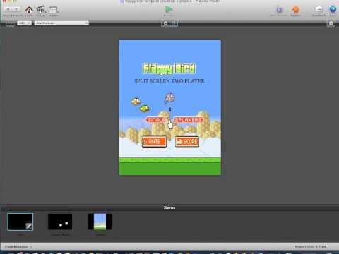 FlappyBird Multiplayer Version 1.1 gamesalad template