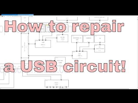 How to repair Macbook Pro USB ports on logic board.