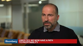 Uber's Khosrowshahi Sees Path to Profitability Despite Bumps in the Road