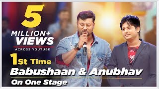 Babushan & Anubhav- 1st time on Stage Together for Their Rajo Dhamaka - 9th Tarang Cine Awards