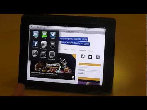 Add a webpage to your reading list on your iPad
