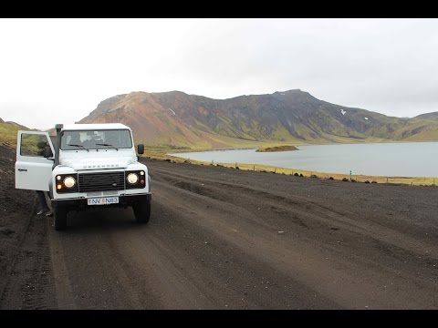 Iceland 2015, Landmannalaugar,  F208 south  and F225 driving in late September