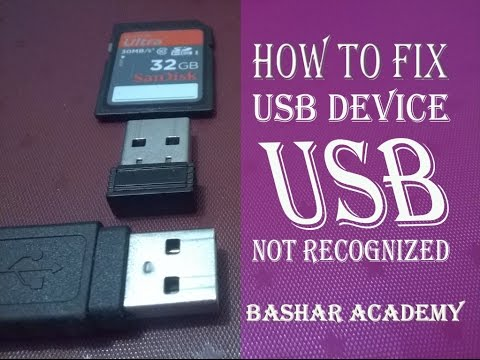 How to fix USB drive that not show in my computer