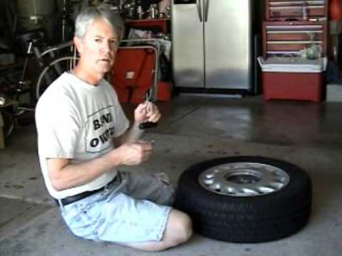 Car Tire Repair WHEN SHOP WILL NOT FIX IT - Emergency use only - how to fix a car tire for $4 DIY