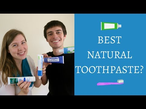 Natural Toothpaste Review 2017   Best Natural Toothpastes: Fluoride Free