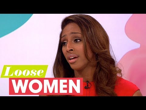 Alexandra Burke Reveals How Strictly Helped Her Cope With Her Mother's Death | Loose Women