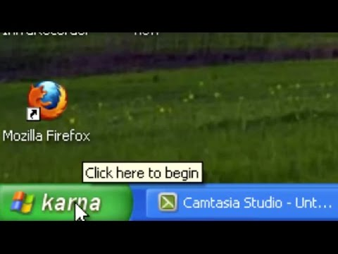 How to Change Start Button with our own Words (windows XP)
