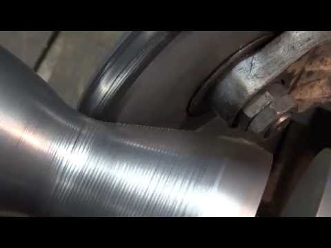 Metal Spinning of the combustion champer of the BPM 5