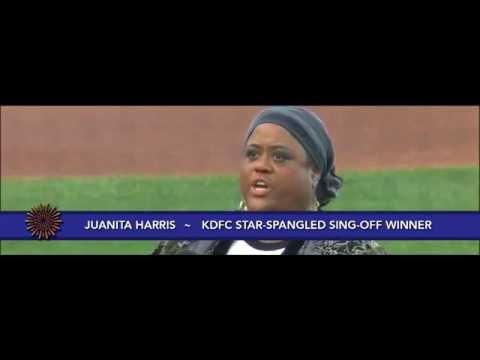 National Anthem, Juanita Harris KDFC Opera at the Ballpark Simulcast