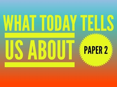 What Today's AQA English Language Exam Tells Us About Friday's Exam (21st C Source)