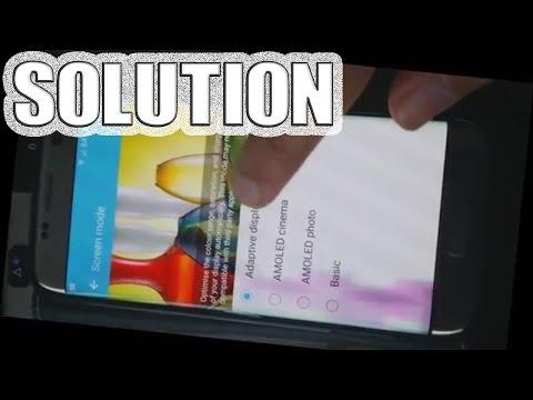 Samsung Galaxy S7 Edge Purple Smudge ★SOLUTION★