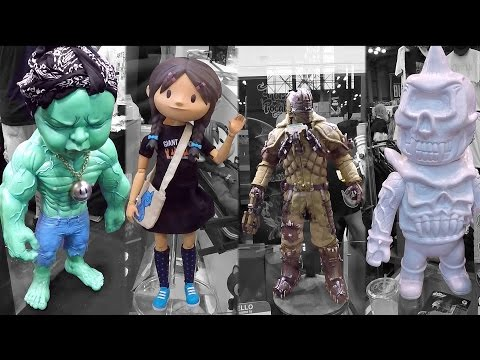 2016 NYCC New York Comic Con Art Toys Designer Toys Custom Toys Part 2 Mishka NYC Ron English