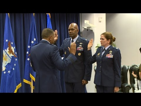 Lt Col Lee Jones & Lt Col Mary Danner-Jones Promotion Ceremony