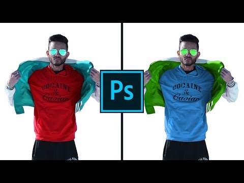 How to Select and Change Colors in Photoshop 2018