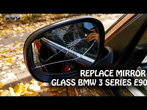 BMW 3 Series E90 Facelift 08-11 Dimming Mirror Glass Replacement