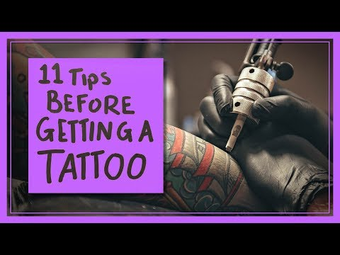 11 Tips Before You Get a Tattoo