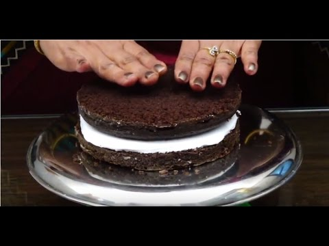 Black Forest Cake in hindi क्रिसमस स्पेशल ब्लेक फोरेस्ट केक