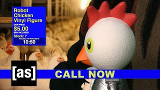 Robot Chicken Figurine | As Seen on Adult Swim (Thursdays @ 8pm ET) | adult swim