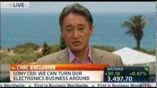 Kaz Hirai responds to Daniel Loeb in interview 30.05.2013 CNBC