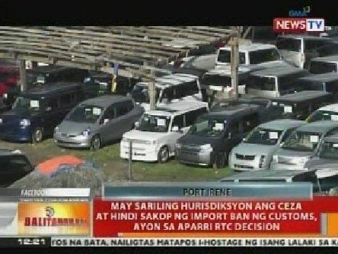 BT: 'Car Yard' sa Cagayan Special Economic Zone & Freeport, mistulang tiangge ng 2nd hand cars