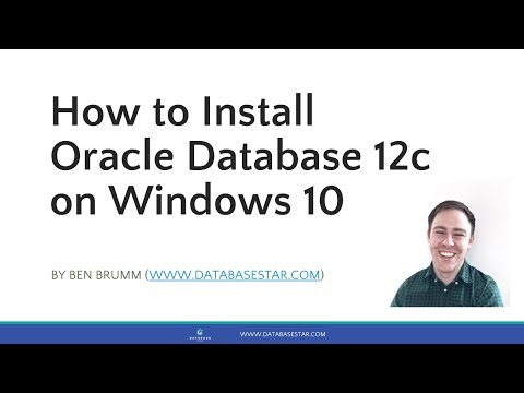 How to Install Oracle Database 12c on Windows 10