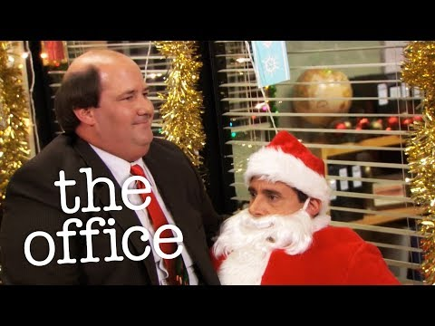 Kevin Sits On Michael  - The Office US