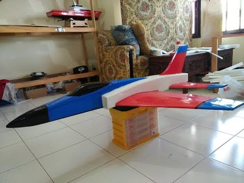 How to build rc plane jet super bandit edf