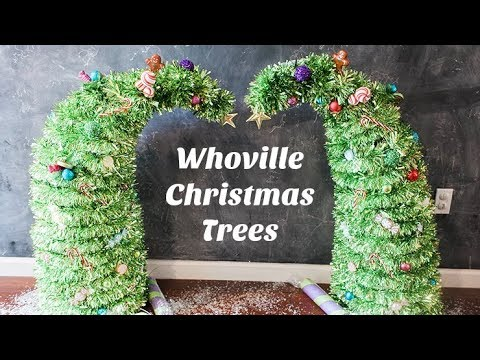 Whoville Christmas Trees | Grinch Christmas Trees