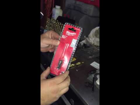 How to fit 1/2 drill bits on 3/8 drill. Drill adaptor
