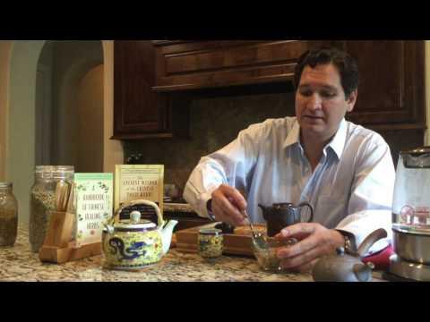 Chinese Root Tea Prep