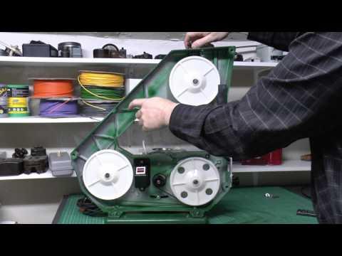Burgess BBS-20 Bandsaw Blade Installation & Test Cutting