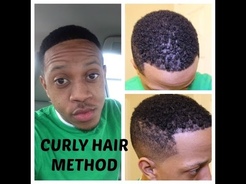 How To Get Natural Curly Hair (Black Men) w/ Shea Moisture Products