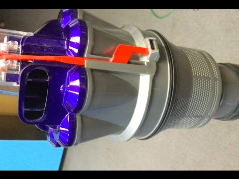 How to take apart and clean cyclone Dyson Animal DC