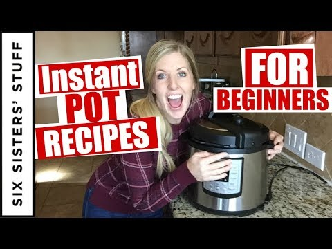 3 EASY Instant Pot Recipes For Beginners!