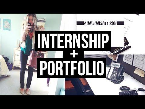 HOW TO GET AN INTERNSHIP! Portfolio, Resume, and More!
