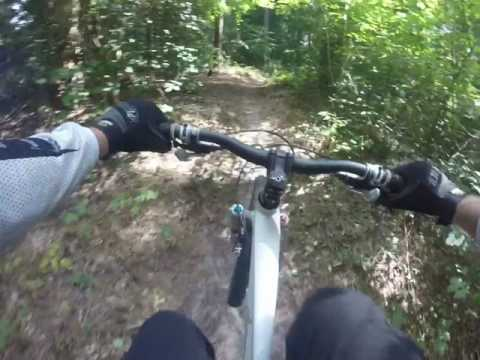Salisbury City Park mountain biking