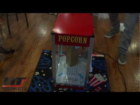 Popcorn Machine Theater Pop Unbox