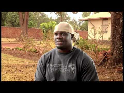 Starkey Hearing Foundation in Rwanda and Uganda with the NFL