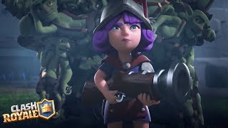 Clash Royale Movie 2018 (FULL HD) | New Fan Edit Animations | Best Clash Commercials