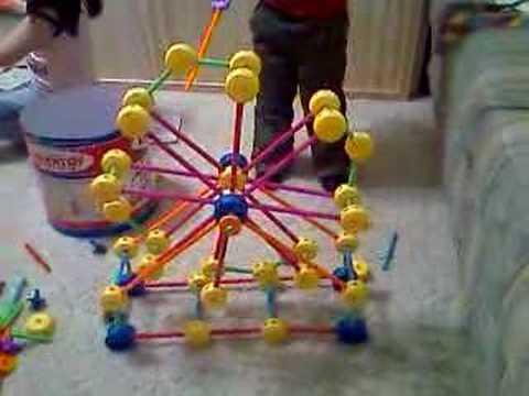 Matthew's Tinker Toy Ferris Wheel